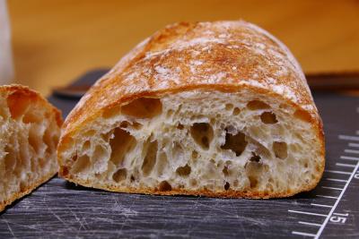 トランブルーのパン断面