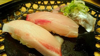 寿司おまかせ白身三種