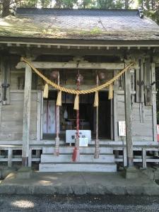 釣石神社�