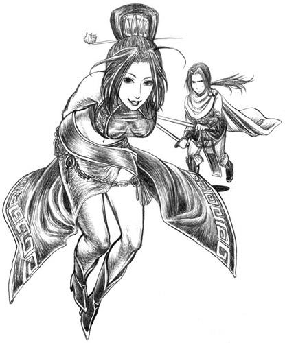 曹丕と甄姫