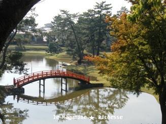 名勝 旧大乗院庭園2009秋_