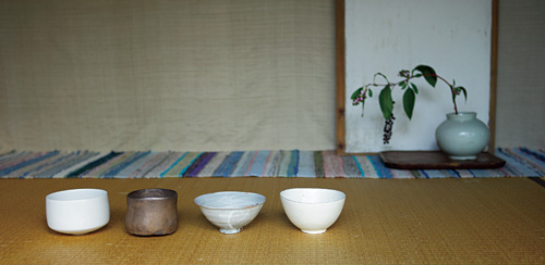 月日荘 11月「お茶を一服」展 post card