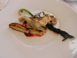 Pesce e verdura stagione in padella