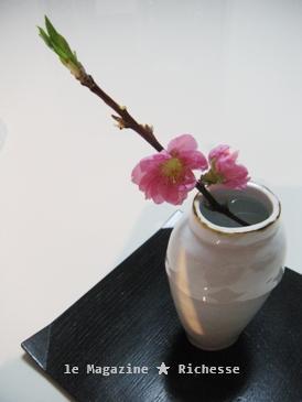 桃の花 陶器 by 内藤美弥子
