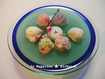 お雛まつりの和菓子