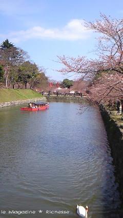 2010彦根城内堀_01尾形船