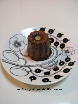 le chapon fin(ルシャポンファン)のカヌレ 01