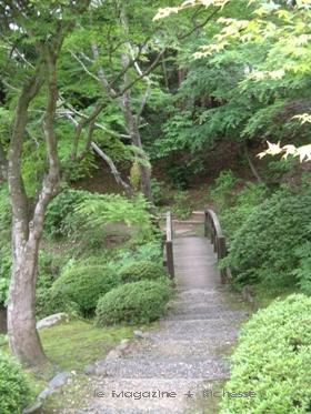 豪農屋敷・長屋門につづく橋