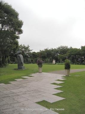 伊豆 クレマチスの丘 ヴァンジ彫刻庭園美術館