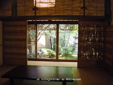 茶寮 宝泉 座敷席