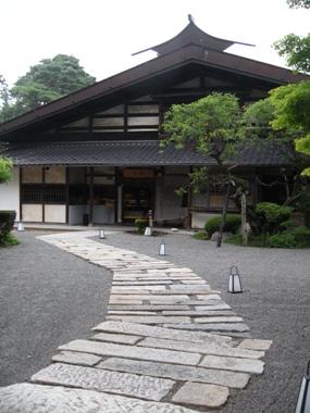 飯田家住宅 母屋
