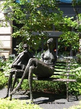三菱一号館広場 Park in Rome 1976 by Toshio Yodoi
