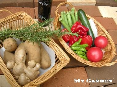 瑞花の野菜たち