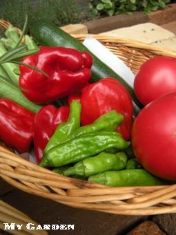 瑞花の野菜バスケット