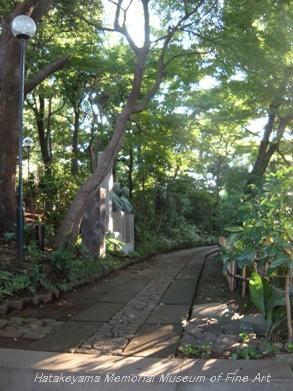 畠山記念館 庭園 02