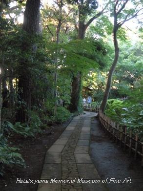 畠山記念館 庭園 03