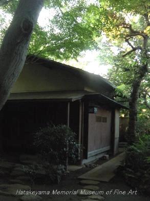 畠山記念館庭園 茶室