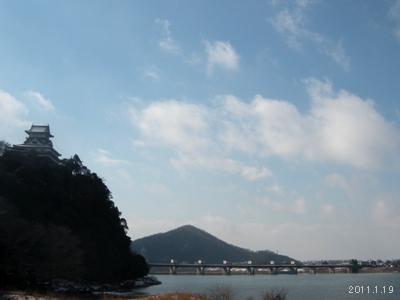 le19janvier2011犬山城(白帝城)