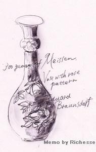Memo byRichesse_ブラウンズドロフ様式バラ文瓶