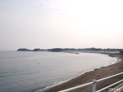 三重県志摩市阿児町甲賀あたりの海岸