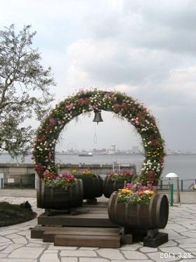 le25mars2011_名古屋港ワイルドフラワーガーデンBluebonnet/ブルーボネットシーサイドプロムナード