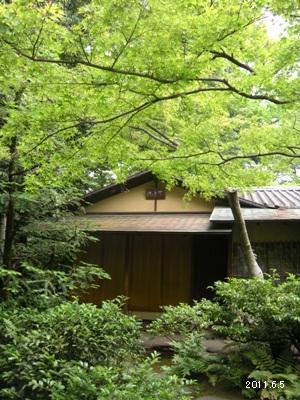 2011根津美術館庭園_茶室