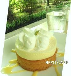 NEZU CAFE 04 レア&ベイクドチーズケーキ