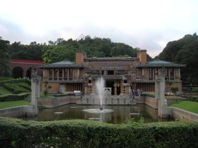 犬山明治村_帝国ホテル中央玄関:建設年代大正12年(1923)