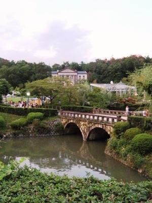 犬山明治村_天童眼鏡橋(多嘉橋):建設年代明治20年(1887)
