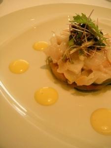 札幌ランチ_ラ・トルチュ/La Tortue つぶ貝のマリネ