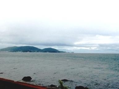 車窓:北海道_石狩湾