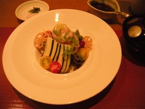 函館うに むらかみ札幌店/水茄子のサラダ