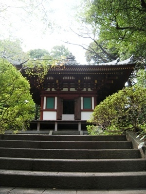 高輪庭園_観音堂/Temple dedicated to Kannon