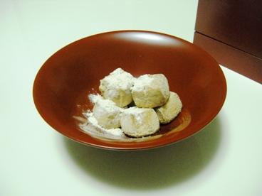 SHOTANI_庄谷の和の心 和三盆クッキー/漆器:赤木明登