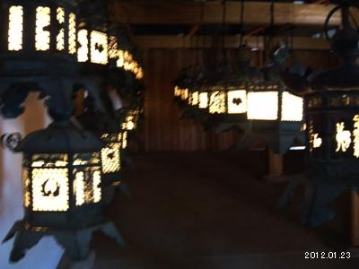 2012_奈良春日大社09_藤浪之屋の萬燈籠(特別公開)