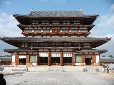 2012奈良大本山_薬師寺金堂(龍宮造り)