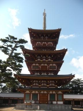 2012奈良大本山_薬師寺 西塔