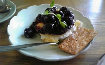 2012奈良 くるみの木一条店(カフェ)05ケーキ