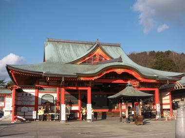犬山成田山 本堂(大本山成田山名古屋別院 大聖寺)
