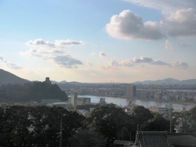 20120203_犬山成田山より望む犬山城&犬山市街