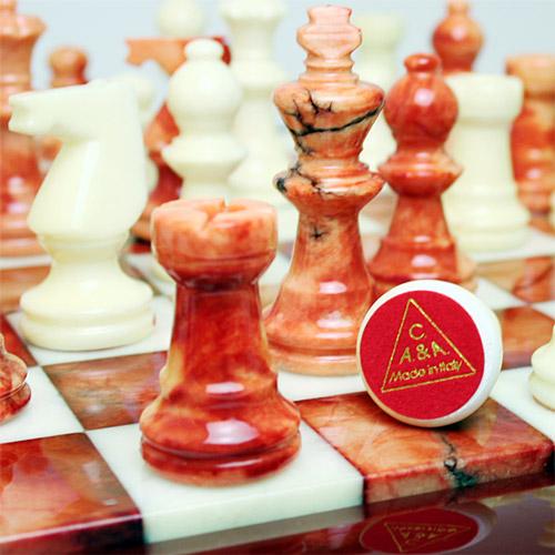 アラバスターチェスセット