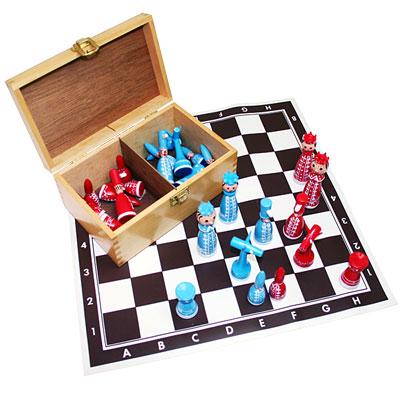 ハンドメイドチェスセット
