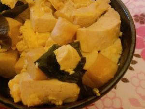 煮込み豆腐うどん