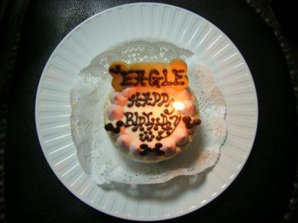 ラブのバースディケーキ