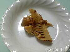 竹の子のおかか煮