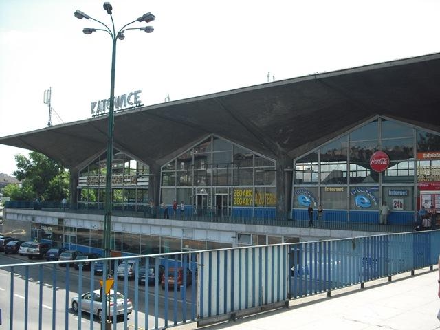 古いカトヴィツェ駅