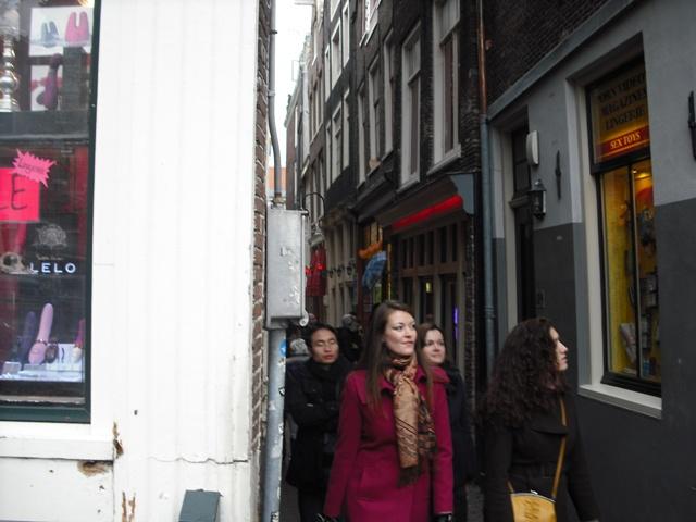 アムステルダム 飾り窓