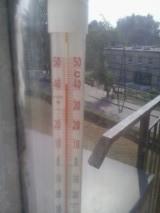 温度43度