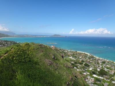 360度のパノラマが広がるラニカイビーチ