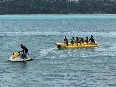 サムイ島バナナボート